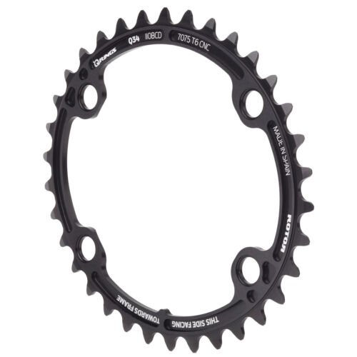 Shimano Road Oval Chainring SET-50//34,52//36 ROTOR Qrings Aldhu 3D 53//39 T