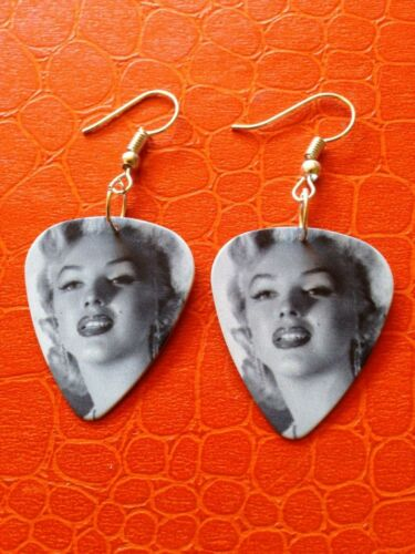 Marilyn Monroe Boucles d/'oreille Médiator Pin up