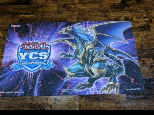 The Dragon of Armageddon Playmat Rub Yugioh YCS Top Cut 2018-2019 Chaos Emperor