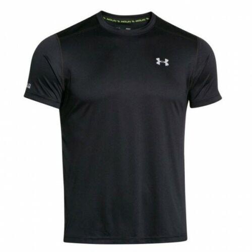 Sonnenschutzfaktor 30 schwarz Under Armour Coldblack Running T-Shirt Laufshirt