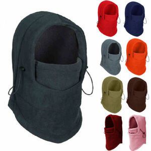 Winter Thermal Fleece Balaclava Men Women Ski Face Mask Neck Warmer ... b12160122