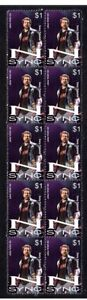 N-SYNC-STRIP-OF-10-MINT-VIGNETTE-STAMPS-JOEY-FATONE