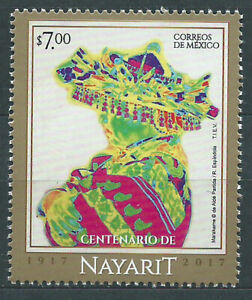 Mexico Mail 2017 Yvert 3033 MNH Nayarit