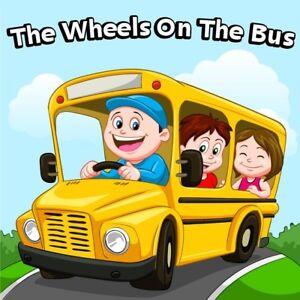 Wheels-On-The-Bus-CD-Childrens-Kids-Nursery-Rhymes-Songs-Music-NEW
