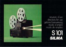 SILMA S 101-istruzioni d'uso b1825
