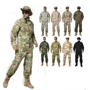 G3 Combat Uniform Shirt Pants Military Airsoft MultiCam Camo BDU Hot Sale