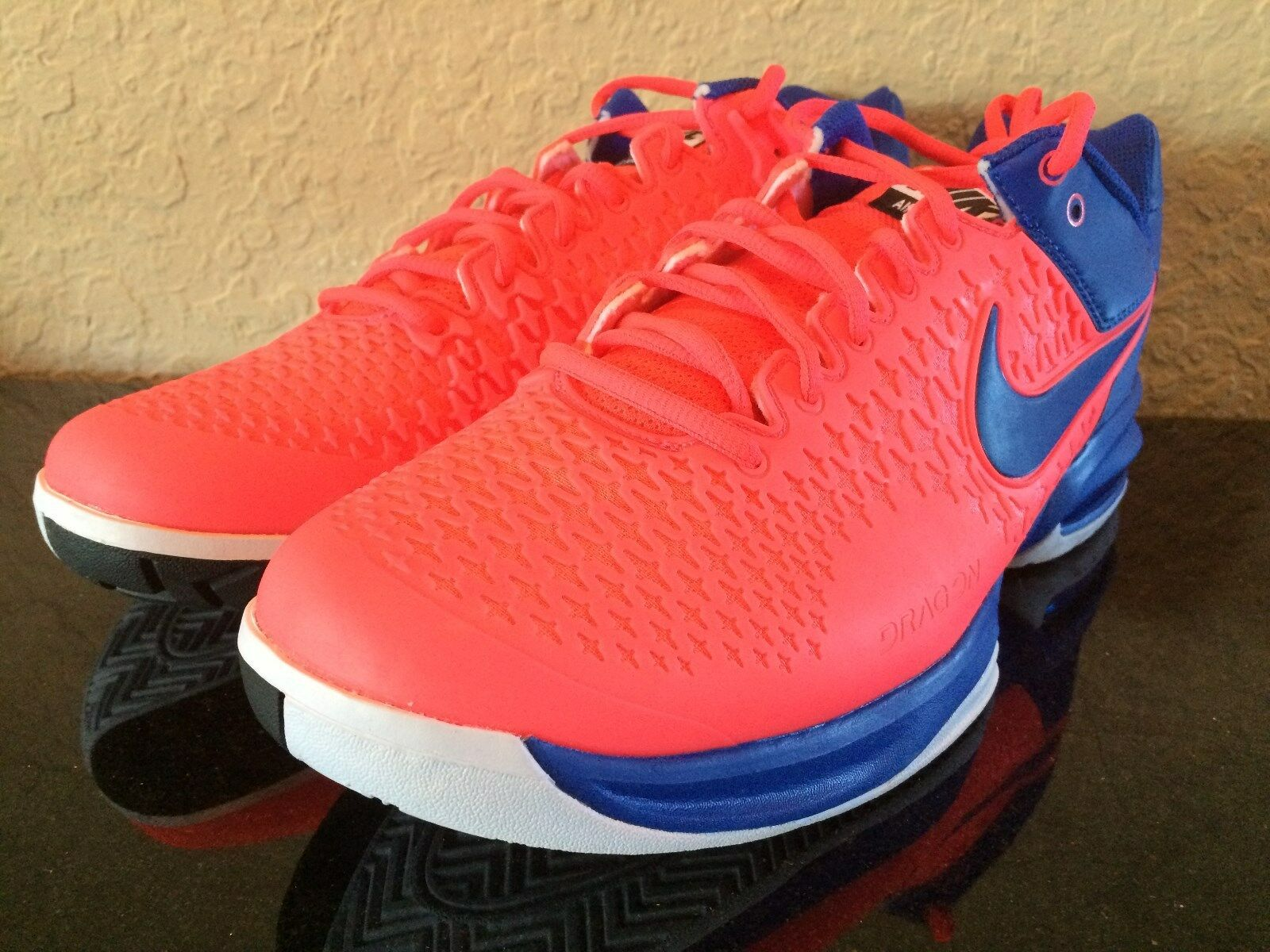 Nike Men's Air Max CageTennis Shoes Red Lava-Blue NY 2014 Cheap women's shoes women's shoes