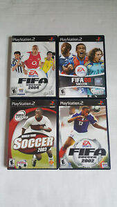 PS2-Games-Lot-of-4-Soccer-Playstation-2-FIFA-World-Tour