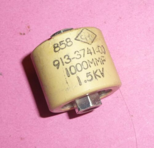 1,5 KV Haute tension condensateur 1000 pF