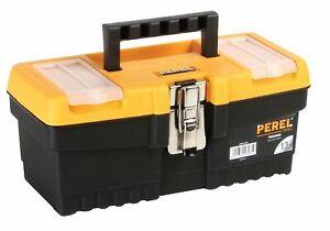 Heavy Duty Plastique Outil Boîte Lot de 3 Kit Small Medium Large À faire soi-même Mécanicien de conservation