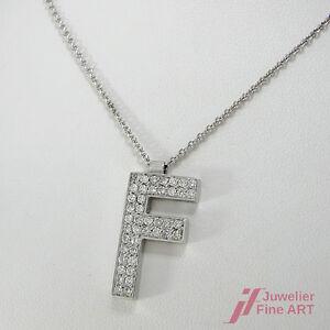 F-Anhaenger-mit-Kette-14K-585-Weissgold-Diamantbesatz-ca-0-80-ct-TW-SI-9-0-g