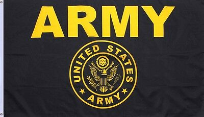 Military US Banner Flag Double Stitched 3' x 5' With Grommets