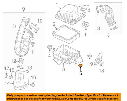 Chevrolet GM OEM Air Cleaner Intake-Air Cleaner Body Lower Insulator 95920465