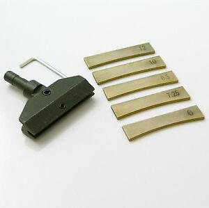 guitar fret wire fret press caul 5 x fret press inserts. Black Bedroom Furniture Sets. Home Design Ideas