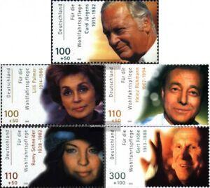 BRD-BR-Deutschland-2143-2147-kompl-Ausg-postfrisch-2000-Filmschauspieler