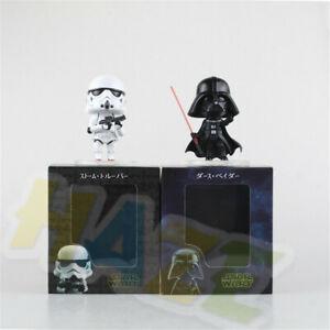 Star-Wars-Stormtrooper-Darth-Vader-4-034-PVC-Action-Figure-Statue-Model-Toy-Gift