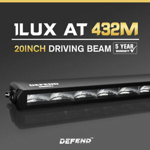 Defend-Indust-20inch-LED-Light-Bar-Slim-Single-Row-Work-Driving-Lamp-4X4-Offroad