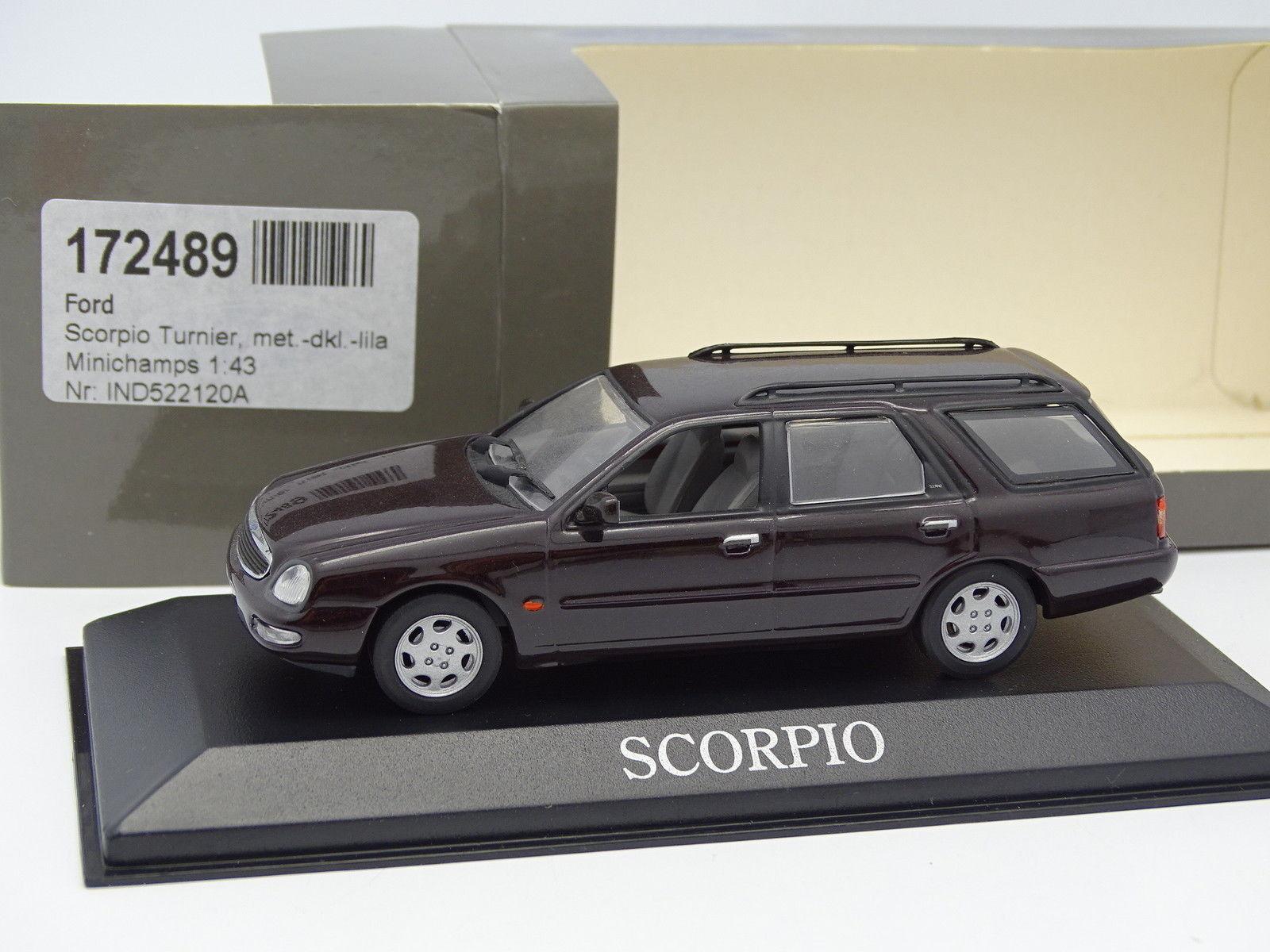 Minichamps 1/43 - Ford Scorpio Turnier Break Lilla