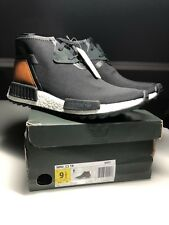 super popular 6b47d ad2ab Adidas NMD C1 TR Chukka Originals Boost DS Men s Sz 9.5 Black Brown S81834