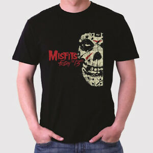 New Rare THE MISFITS Metal Punk Rock Band Legend Men/'s Black T-Shirt Size S-3XL