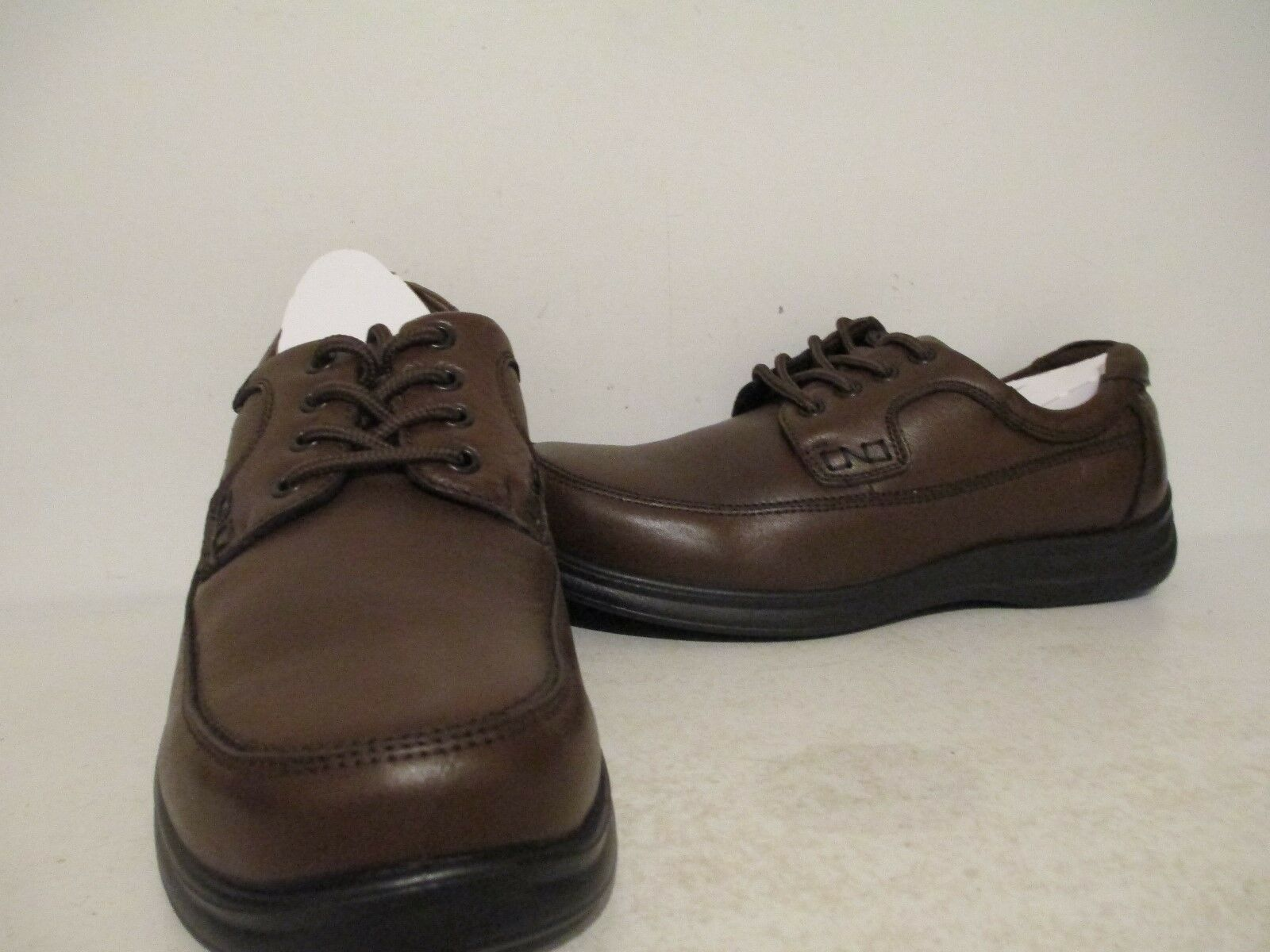 Nunn Bush Mens Mo 84564 Casual Dress Leather Oxfords Cognac Sizes 7 - 13 M - XW