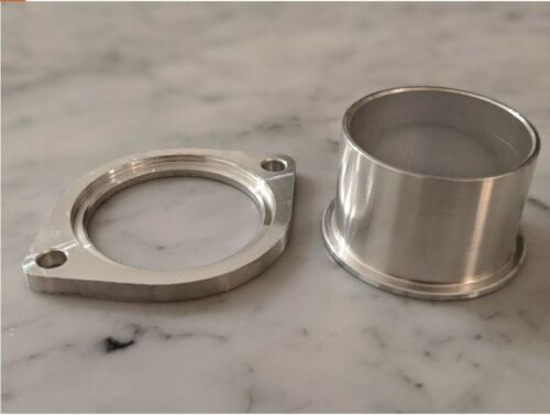 Weld on Aluminum Flange Adapter For GReddy Type S,R,RZ,RS,FV Blow off Valve BOVs