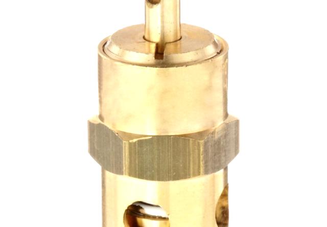 1//4 Male NPT 125 psi Set Pressure Control Devices ST Series Brass ASME Safety Valve