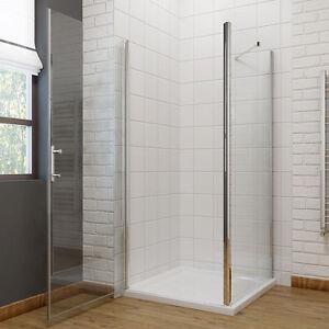 duschkabine 90x90 glasduschwand schwingt r seitenwand. Black Bedroom Furniture Sets. Home Design Ideas