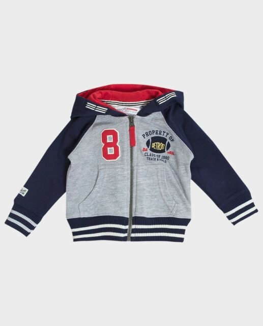 b9b0cad7c Minoti Boys Girls Kids Childs Zip up Hoodie Hooded Sweatshirt 6 ...