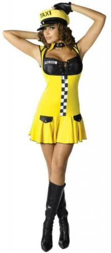 Fantasy by Fun World Meters Running Taxi Driver Fancy Dress Costume RRP £39.99