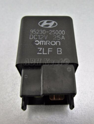 696-Hyundai 90-05 4-Pin Multi-Use Black Relay 95230-25000 HMC OMRON DC12V 25A