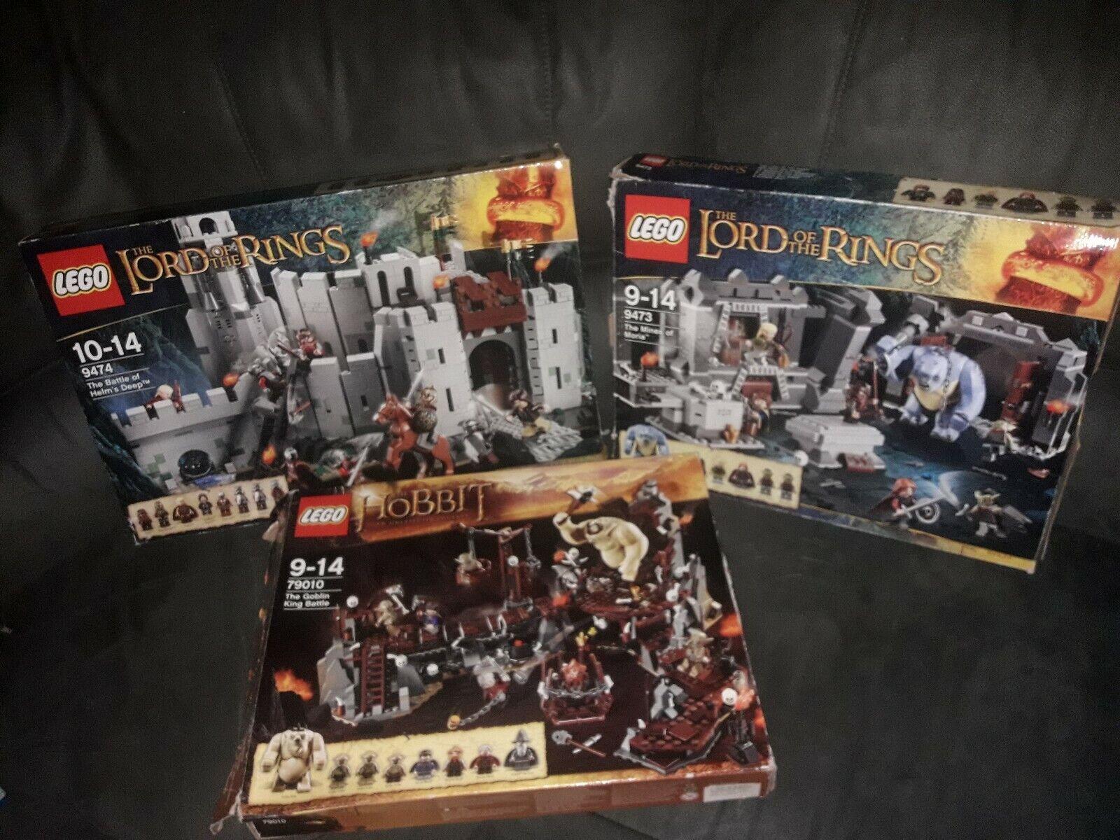 LEGO Il Signore  degli Anelli e Hobbit SCATOLE VUOTE  online economico