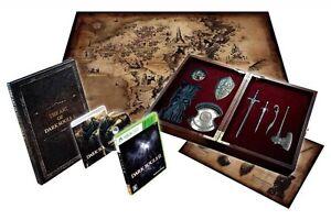 Xbox DARK SOULS II 2 Collectors Limited Edition Maps Soundtrack NEW ...