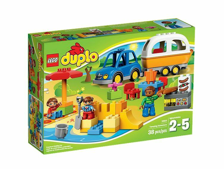 LEGO® DUPLO® 10602 Camping-Abenteuer NEU OVP_ Camping Camping Camping Adventure NEW MISB NRFB c4eff0