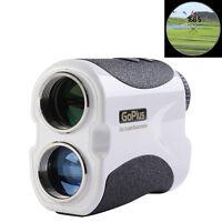 Goplus 6x Lcd Sport Golf Laser Rangefinder Yardage Device 5400+ Yd Range White