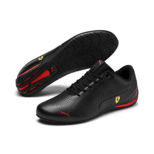 Sale-NEW-NIB-Men-039-s-Puma-SF-Ferrari-Drift-Cat-5-Ultra-II-Sneakers-306422-01-Blk