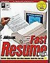 Adams JobBank Fast Resume Suite 3 PC CD cover letter sample careers 20K listings