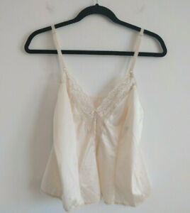 Size 34 Ivory  Cami by MAIDENFORM Top Ivory Lingerie Top Camisole