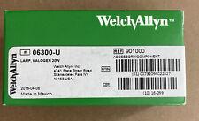 Welch Allyn 06300 U Halogen Lamp 20w Ref 901000 New