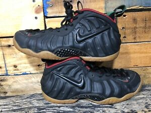 various colors 4d40b aca7a Image is loading Nike-Foamposite-Pro-SIZE-8-Black-Gorge-Green-