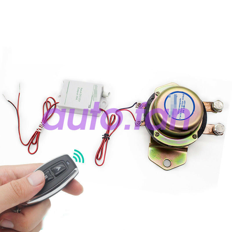 For car electromagnetic switch Battery 12V 24V 50 m wireless remote control