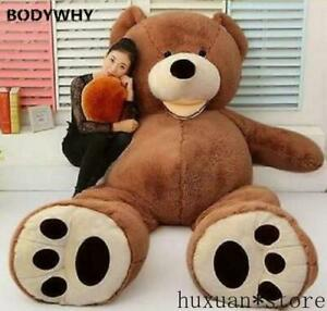 "Plush Toy Shell 79/"" with Zipper 200cm Super HUGE Teddy Bear only Cover"