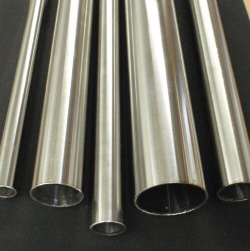 """STAINLESS STEEL TUBING 1//4/"""" O.D X 24 INCH LENGTH X .040/"""" WALL POLISHED 6mm"""