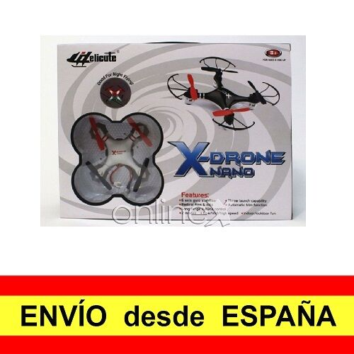 Drone Dron Nano Cuadricóptero H107 Tiempo Vuelo 8 minutos a1518