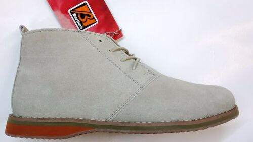 New Mens Lace Up Ankle Smart Casual Faux Suede Formal Desert Fashion Boots Shoes