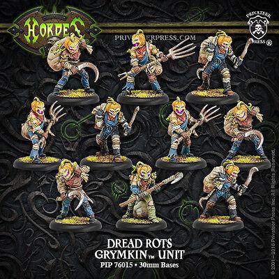 Hordes Grymkin Malady Man Unit NEW IN BOX PIP 76034 Free Shipping