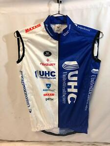 Image is loading United-Healthcare-Vermarc-Mens-Pro-Cycling-Vest-Small- e1349d93d