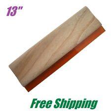 13 Silk Screen Printing Squeegee Wood Ink Scraper Scratch Board 75 Durometer