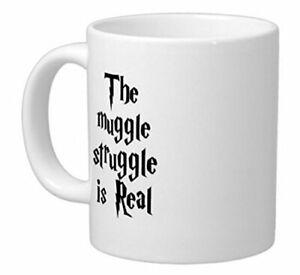 Harry Potter Coffee Mug Funny Rude Saying Muggle 11oz ceramic coffee mug