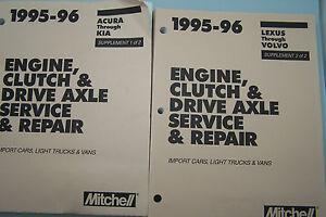 mitchell service manual engine drive axel mercedes bmw audi hyundai rh ebay ie mitchell automotive service manuals mitchell alldata service manual